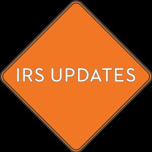 IRS Changes_ORANGE SIGN